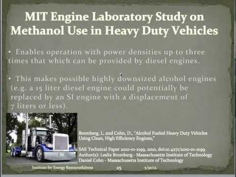 Methanol Can Free Us From Oil: We do not need either gasoline or diesel to run our vehicles!