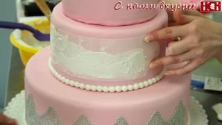 видео Как украсить торт айсингом – шаблоны для рисования