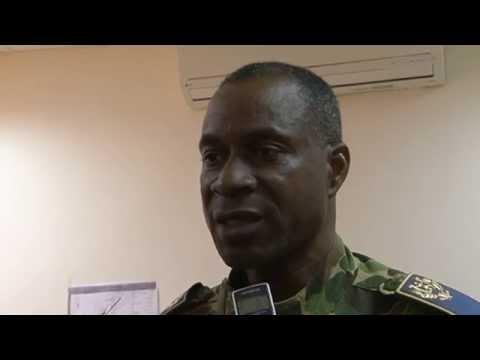 AH5017- Gen. Gilbert Diendéré, CEM Présidence BF-APA