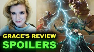 Thor Ragnarok SPOILERS Movie Review