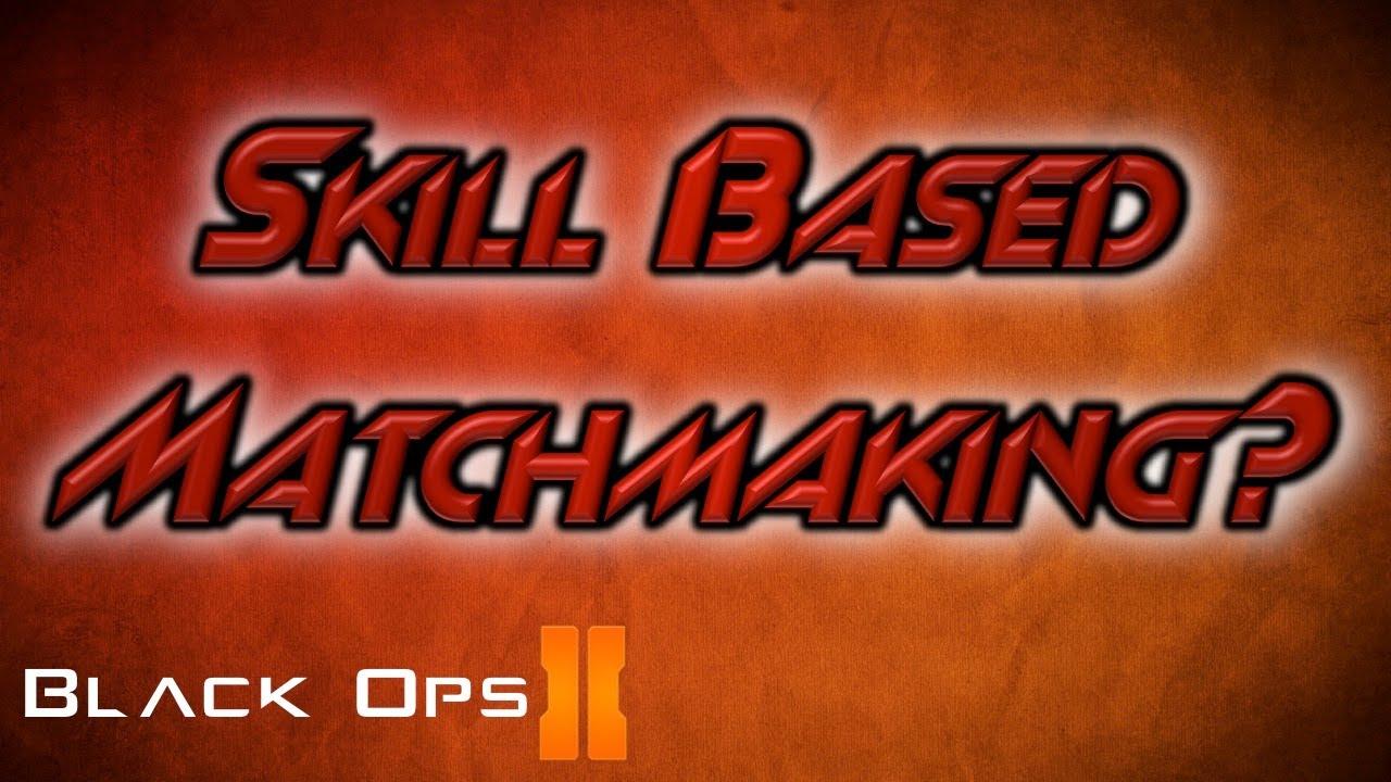 Heeft Black Ops 2 hebben skill based matchmaking