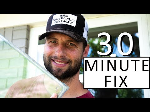 Do It RIGHT!  How To Fix A Broken Window Pane