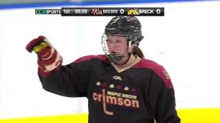 Maple Grove vs. Breck Girls High School Hockey