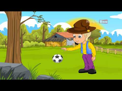 All Work No Play - English Nursery Rhymes - Cartoon/Animated Rhymes For Kids