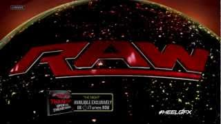 "2012: WWE Monday Night Raw Official New Theme Song - ""The Night"" + Download Link ᴴᴰ"