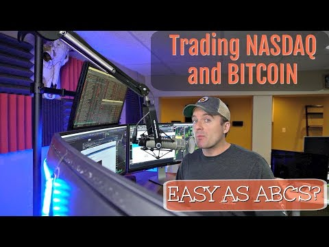 NASDAQ and Bitcoin Trading Easy As ABC's?