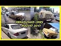 Abandoned Cars and Trucks Exploring Compilation August 2017. Old Abandoned Cars Found 2017