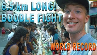 WORLD RECORD BOODLE FIGHT (Laog City Philippines)