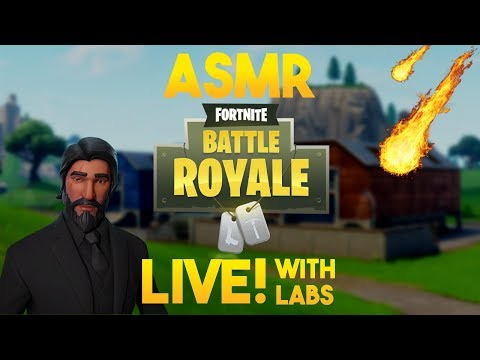 ASMR Gaming: Looking for Meteors with Labs! [Fortnite BR]