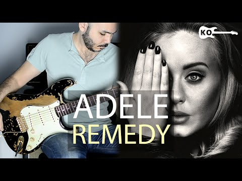 Adele - Remedy - Electric Guitar Cover by Kfir Ochaion