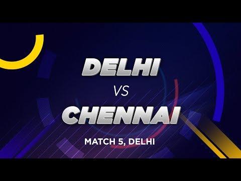 Cricbuzz LIVE: Match 5, Delhi V Chennai, Pre-match Show