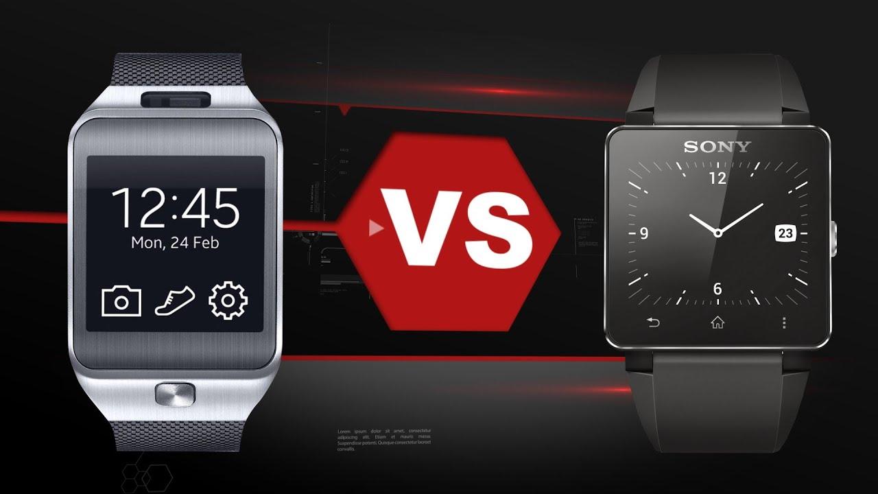 Samsung Gear 2 Vs. Sony Smartwatch 2