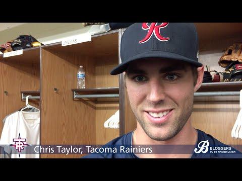 Chris Taylor, Tacoma Rainiers/Seattle Mariners