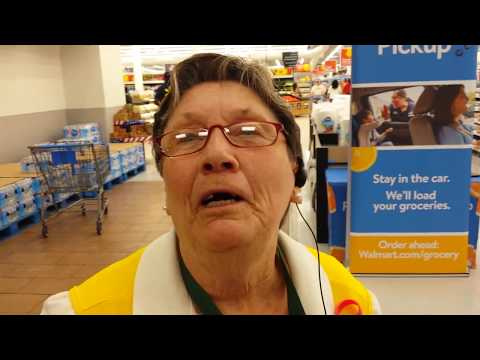 Walmart greeter instantly healed of back pain after prayer!