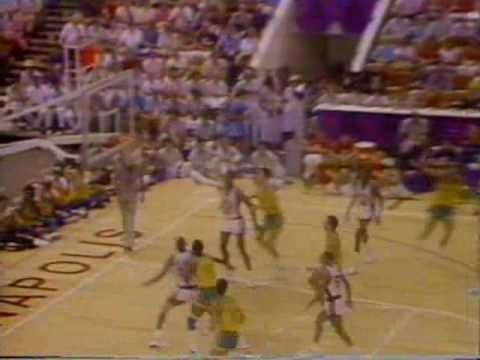 Brasil x EUA - Basquete - Final do Pan 1987 - NA ÍNTEGRA - PARTE 03