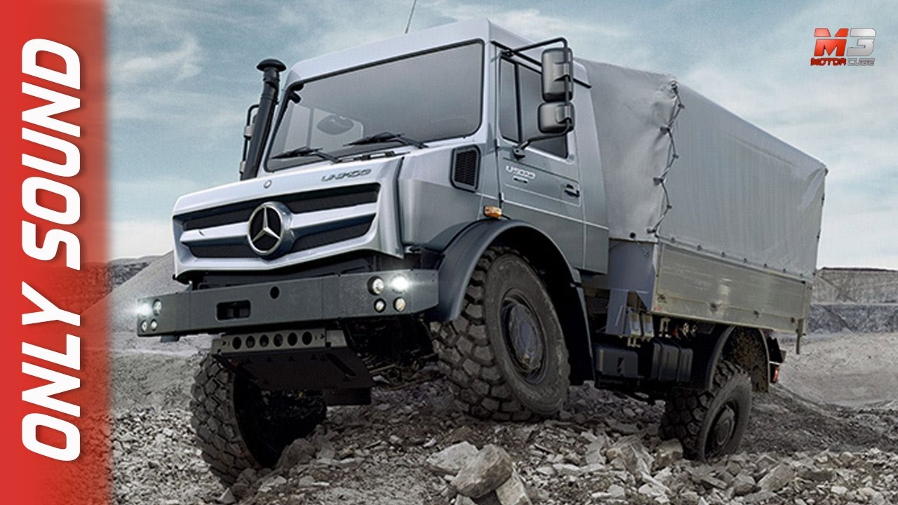 New Mercedes Unimog 2017 70th Anniversary Youtube