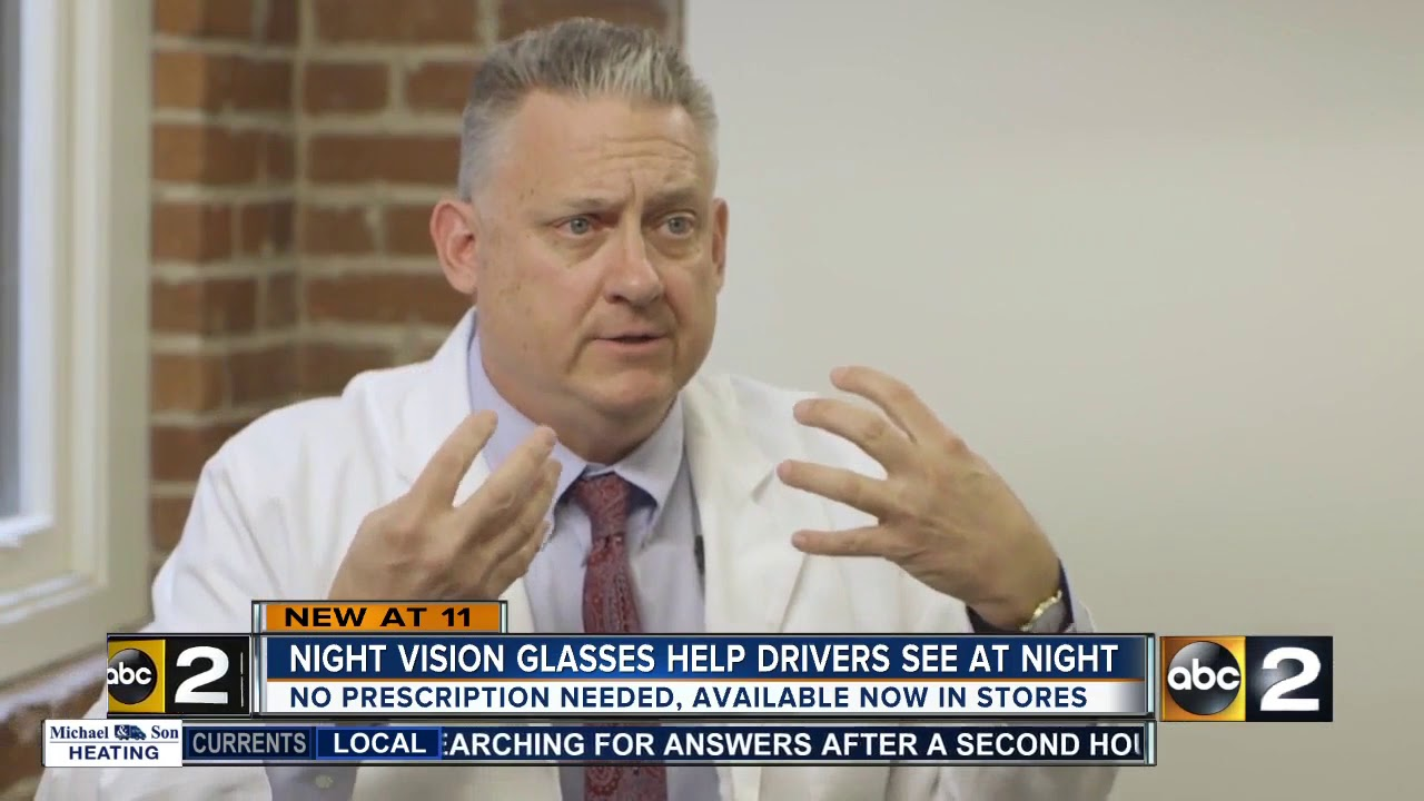 ac93fab1ba1 New Night Driving Glasses make driving at night easier - YouTube