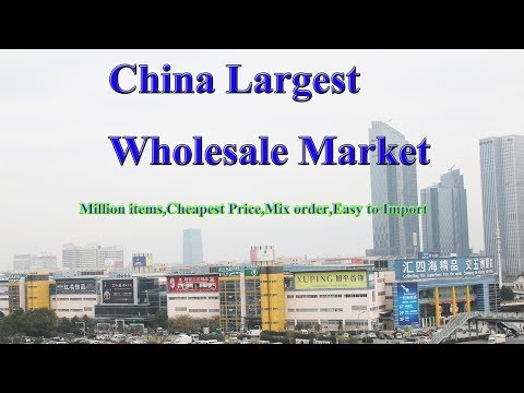 Yiwu Market Agent in the World's largest wholesale market in China