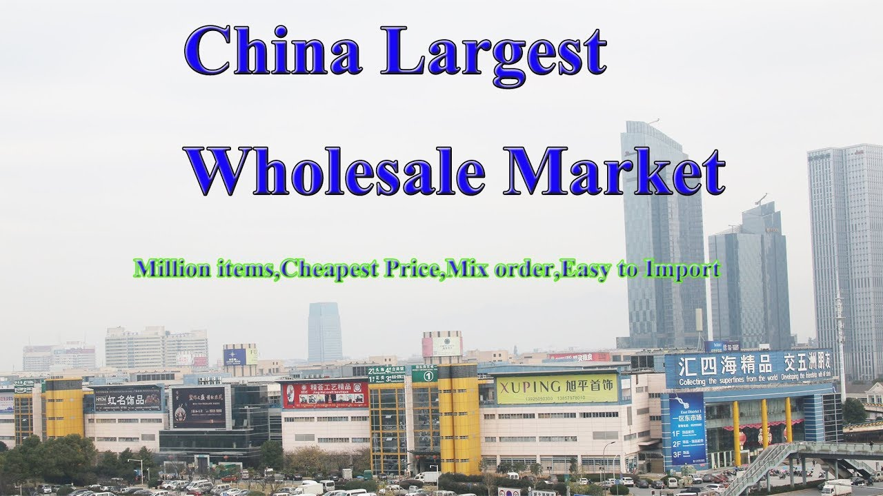 dfdf9e13c2fd36 Yiwu Market Agent in the World s largest wholesale market in China ...