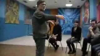 фрагмент урока актёрского мастерства.3