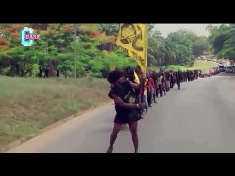 Procession by Katanga Hall KNUST.