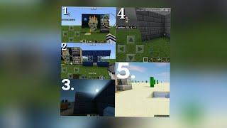 5 cara membuat ruangan rahasia di minecraft PE #tutorialredstone10