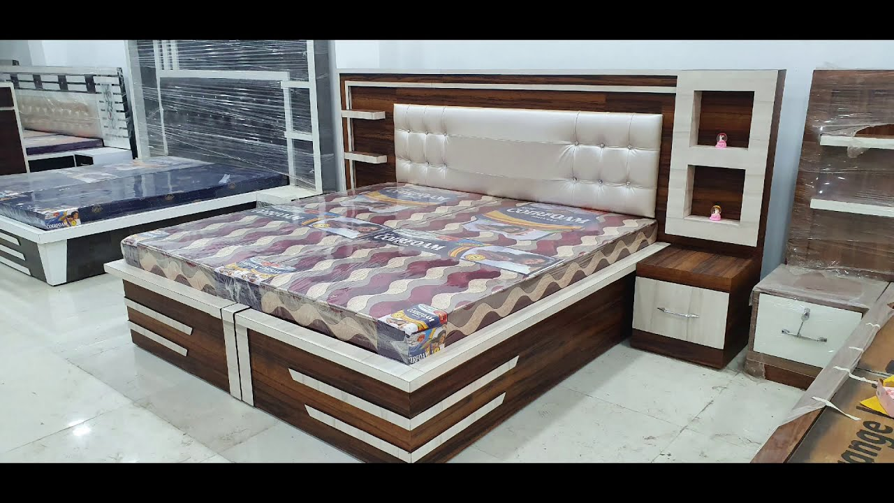 Latest Wooden Beds Designs Feburary 2020 Youtube Wooden Bed Design Bed Design Modern Plywood Bed Designs