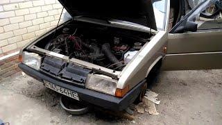 Motor VAZ bilan sizning yordam berish,avtomobil Citroen BX 1986 2101,ozor nima ayt, menga kerak