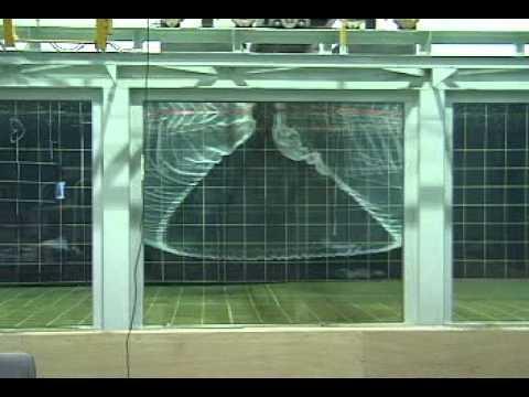 Scale Model Purse Seine Test