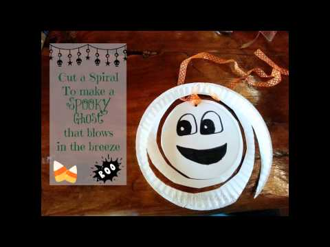 Easy DIY Halloween paper plate crafts ideas