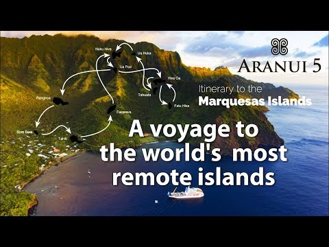 Aranui 5 journey to the Marquesas Islands
