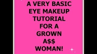 A Very Basic Eye Tutorial For G.a.w.