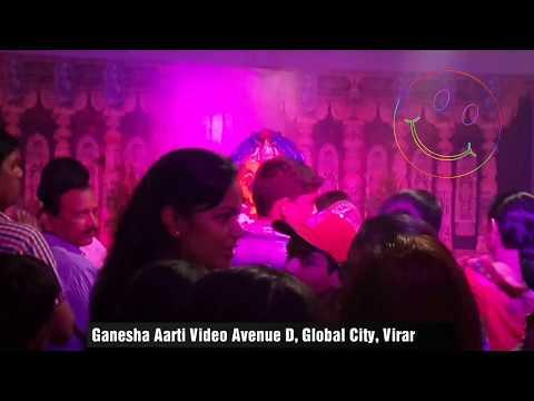 ganesha-aarti-video-in-avenue-d-global-city-virar-16/9/2018