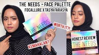 THE NEEDS TASYA FARASYA X FOCALLURE FACE PALETTE REVIEW✨
