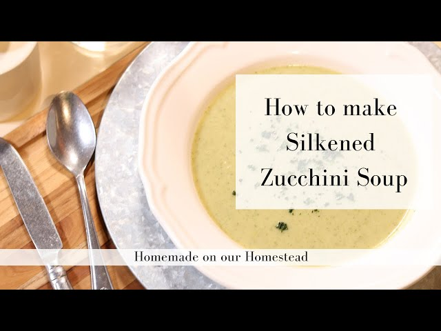 Quick and easy zucchini soup recipe | WHOLE30 SOUP RECIPE