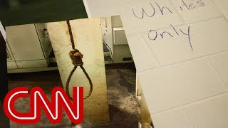 Nooses and 'whites-only' signs found in GM plant