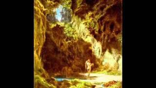 Die Nymphe und der Wandersmann