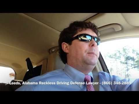 Leeds, Alabama Reckless Driving Attorney - Lawyer for Leeds, AL Reckless Driving