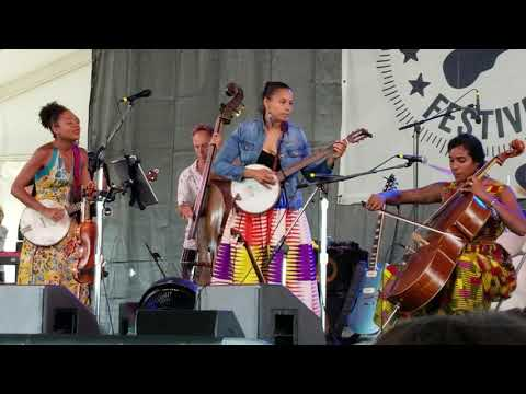 Our Native Daughters 'You're Not Alone' Allison Russell , Newport Folk Festival, Newport  7-28-2019