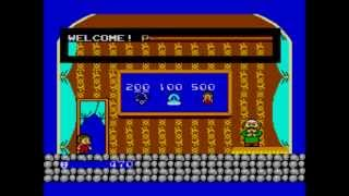Alex The Kidd In Miracle World Walkthrough - Sega Master System