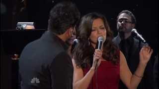 Luis Fonsi vs Martina McBride - Somos Novios (Live at Alma Awards 2012) DBC