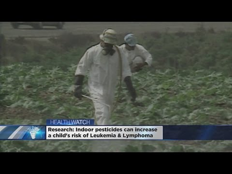 Study Finds Small Link Between Insecticides And Cancer