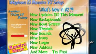 how to install windows xp El-Maestro  V2   2012