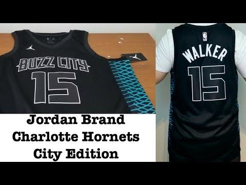 more photos b6604 b0435 Charlotte Hornets City Edition Swingman Jersey Jordan Brand ...