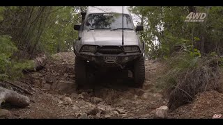 HUGE RUTS - Would you take your 4WD here? Tough 4x4 Track in QLD