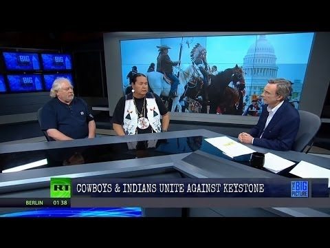 Full Show 4/23/14: Cowboys & Indians Unite Against Keystone Pipeline