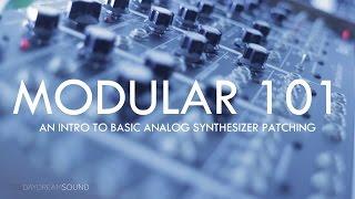 5u modular synth patch