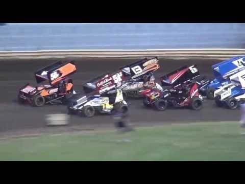 Sprint Invaders Heats Lee County Speedway 8/19/16