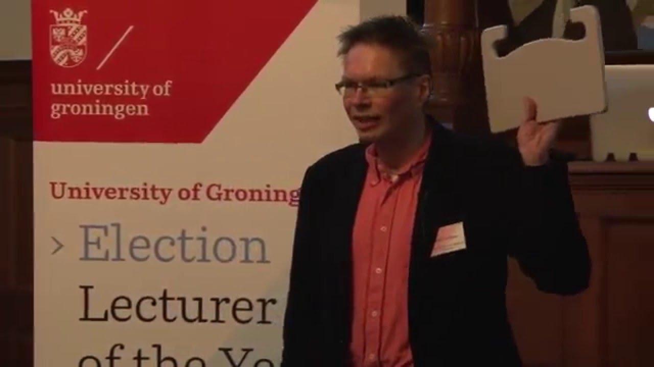 Lecturer Of The Year Election Rug 2016 Niels Taatgen University Groningen