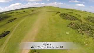 Cleeve Hill Golf Course, Cheltenham. www.golfcourseflyby.co.uk